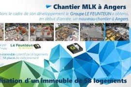 Chantier MLK à Angers