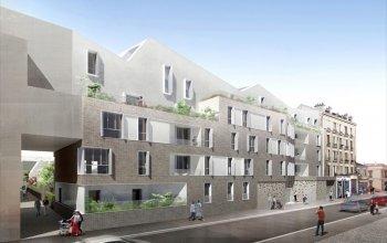 Réalisation logements collectifs et maison à Aubervilliers