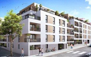 Résidence Saint-Félix à Nantes par Bénéteau Malville - Groupe Le Feunteun