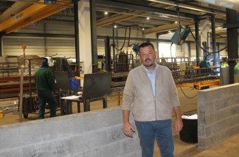 Article Ouest France pour l'inauguration du Pôle Industriel LE FEUNTEUN ARMATURES
