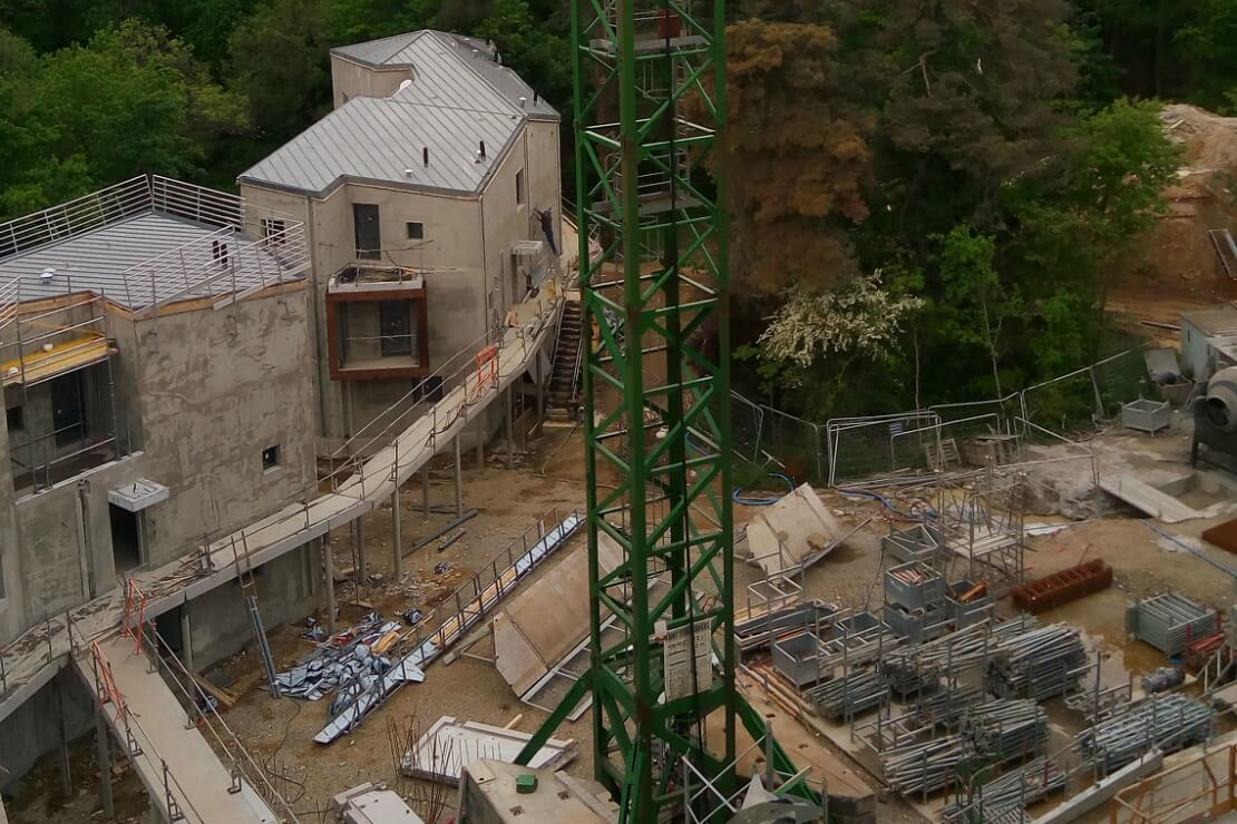 Logistique chantier Résidence Regards sur Parc - Bénéteau Malville