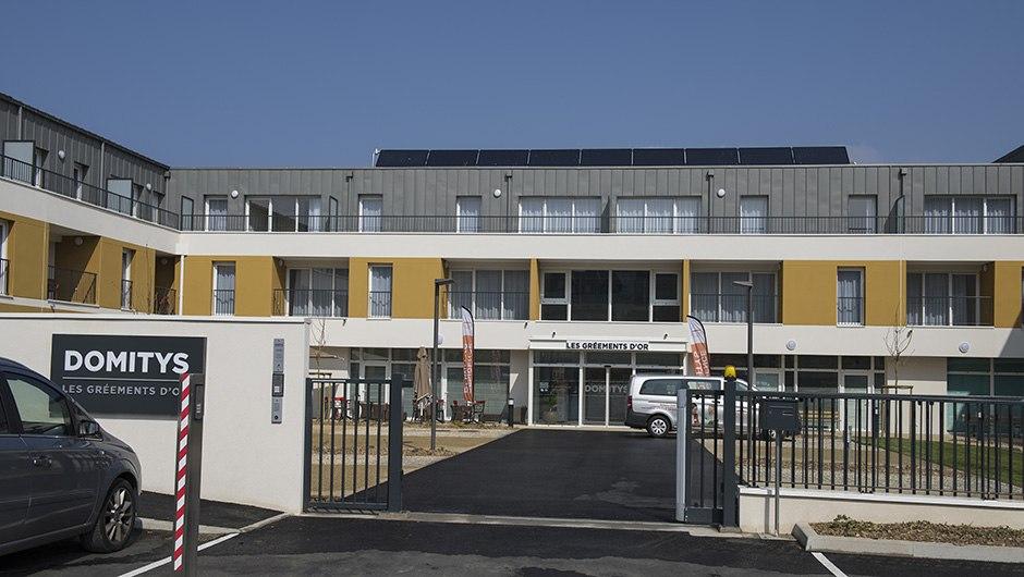 Résidence Les Gréements d'Or à Douarnenez par Le Feunteun Construction